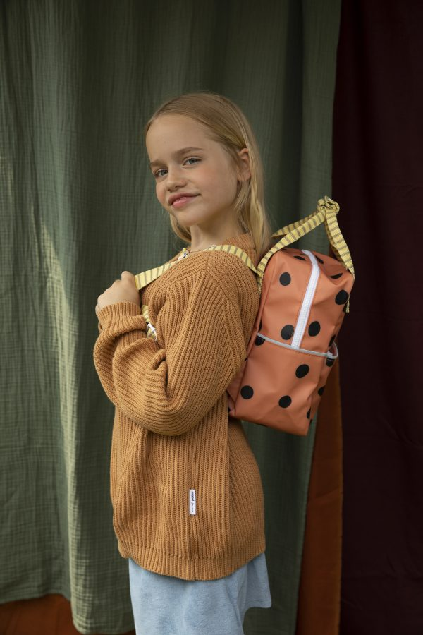 1801647 – Sticky Lemon – backpack small – freckles – special edition – faded orange + retro yell
