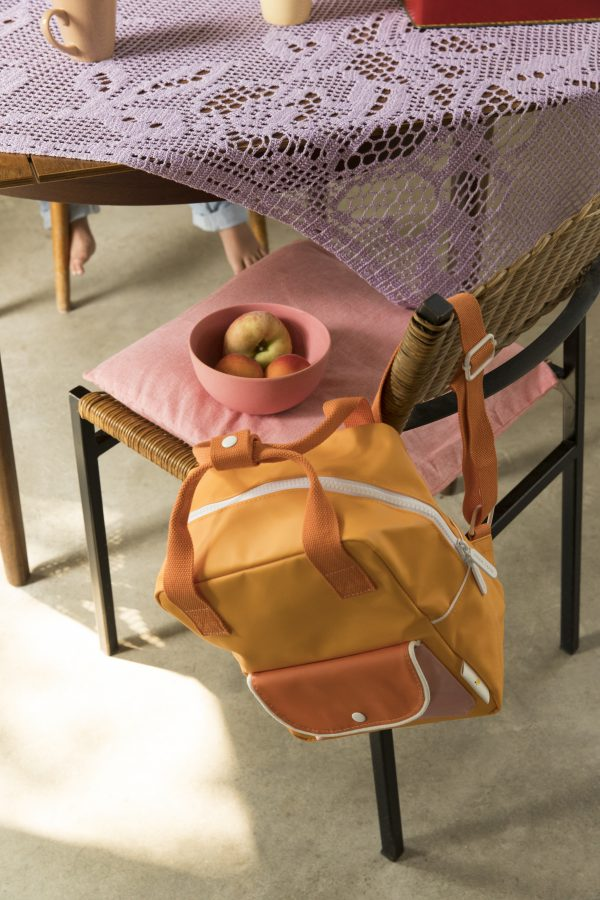 1801659 – Sticky Lemon – backpack small – wanderer – sunny yellow + carrot orange + candy pink –
