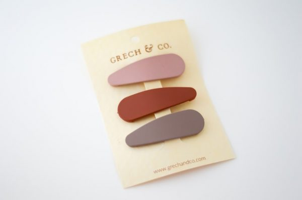 NEW MATTE HAIR CLIPS-23